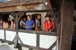 Andres hunts tourists at Bran Castle