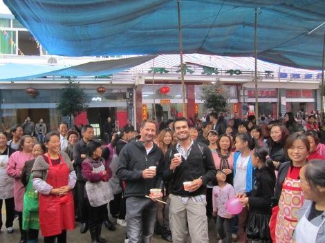 Wedding crashers... Central China...